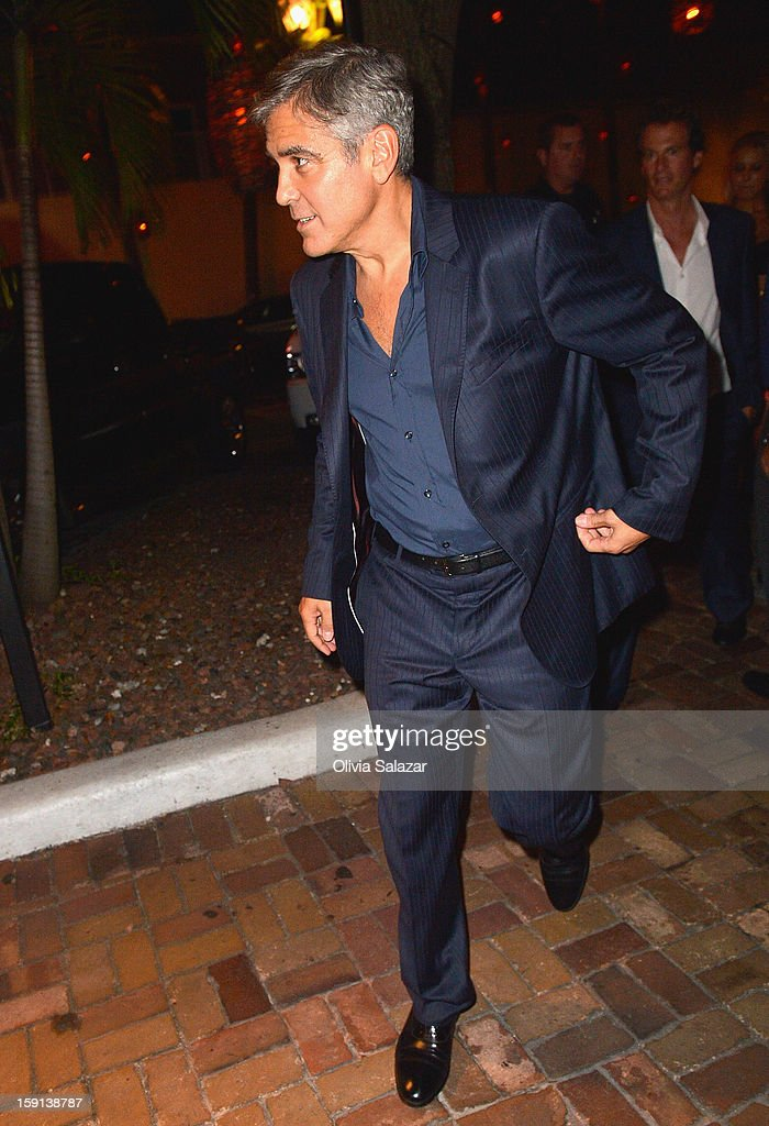 <a gi-track='captionPersonalityLinkClicked' href=/galleries/search?phrase=George+Clooney&family=editorial&specificpeople=202529 ng-click='$event.stopPropagation()'>George Clooney</a> sighting leaving Rocco's Tacos on January 8, 2013 in Fort Lauderdale, Florida.