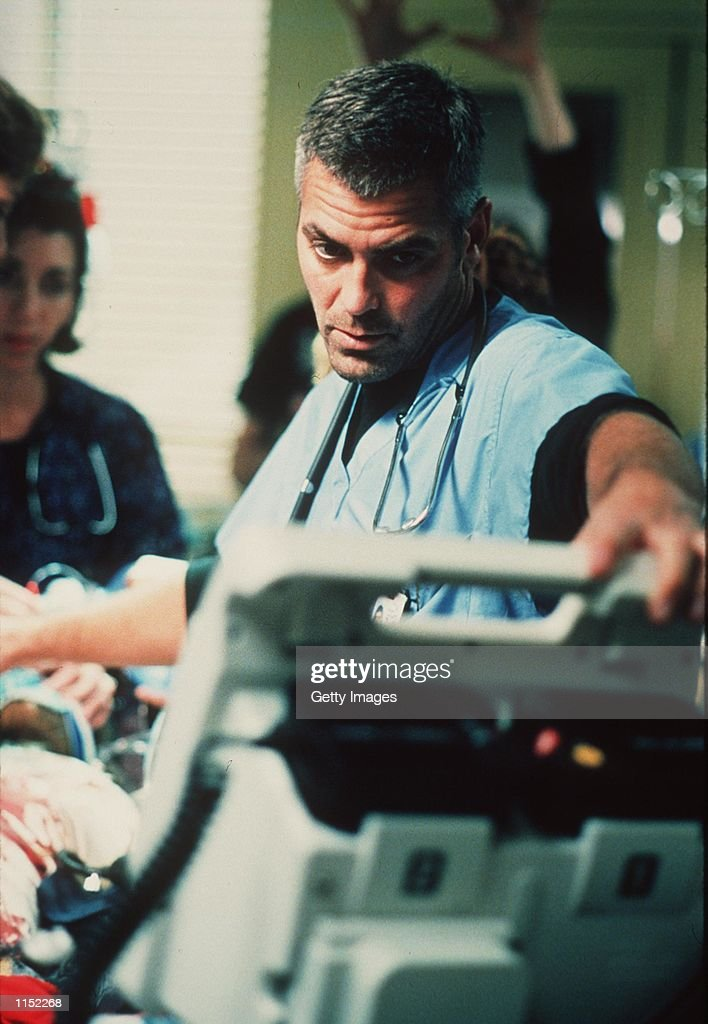 George Clooney stars in the latest season of 'ER.'