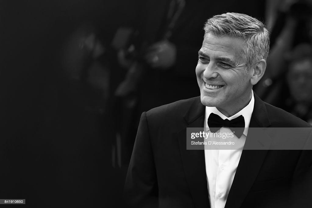 George Clooney walks the red carpet ahead of the 'Suburbicon' screening during the 74th Venice Film Festival at Sala Grande on September 2, 2017 in Venice, Italy.