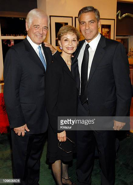 George Clooney with his parents Nick Clooney and Nina Cloonely
