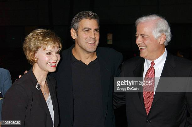 George Clooney with his parents Nina and Nick Clooney