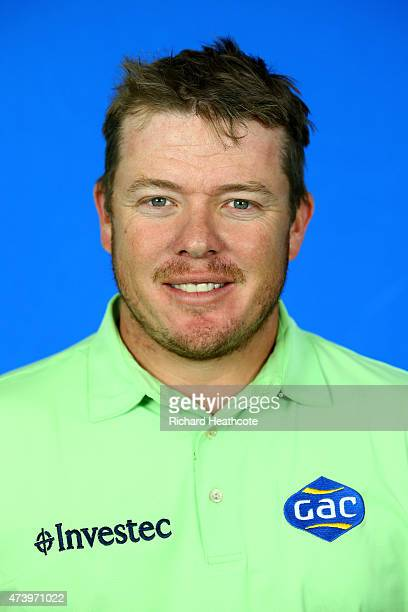 George Coetzee of South Africa poses for a portrait during a practice day for the BMW PGA Championships at Wentworth on May 19 2015 in Virginia Water...