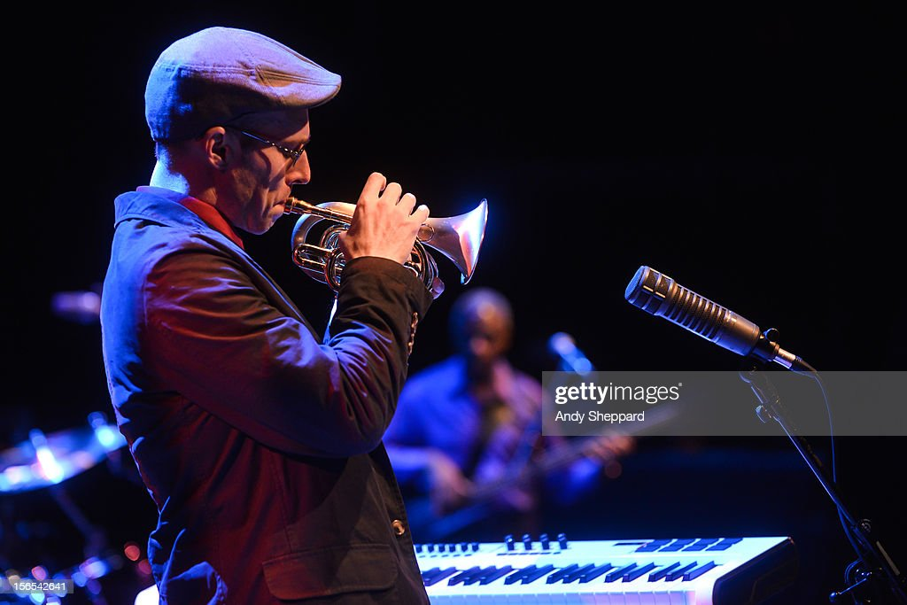 George Colligan performs on stage with Jack DeJohnette Group at Queen Elizabeth Hall during the London Jazz Festival 2012 on November 16, 2012 in London, United Kingdom.