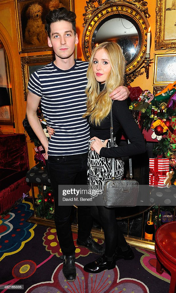 George Craig and <a gi-track='captionPersonalityLinkClicked' href=/galleries/search?phrase=Diana+Vickers&family=editorial&specificpeople=5583865 ng-click='$event.stopPropagation()'>Diana Vickers</a> attend Veuve Clicquot Style Party at Annabel's on November 26, 2013 in London, England.