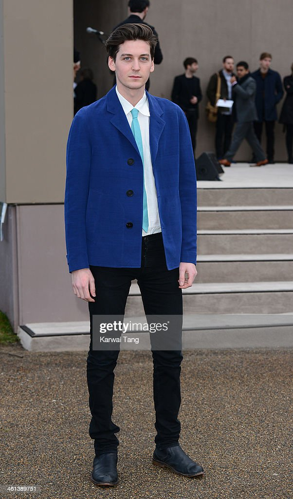 George Craig attends the Burberry Prorsum show during The London Collections: Men Autumn/Winter 2014 held at Kensington Gardens on January 8, 2014 in London, England.