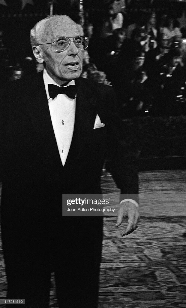George Cukor at American Film Institute Awards Show on April 10, 1981 at the Beverly Hills Hotel in Beverly Hills, California.