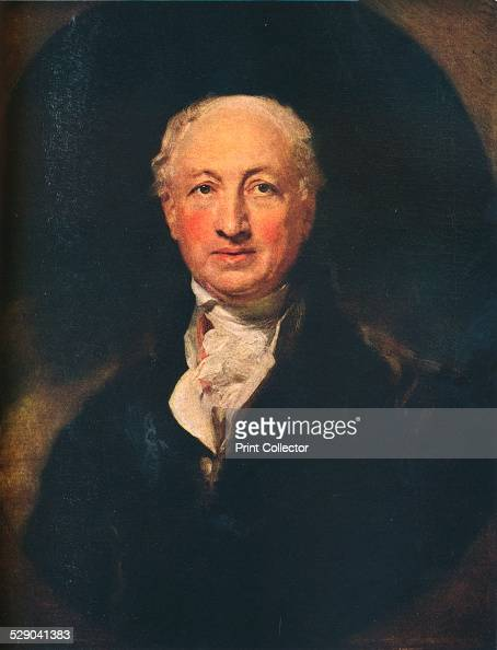 George Dance the Younger English architect surveyor and a portraitist 1798 After an original work by Sir Thomas Lawrence From The Connoisseur Vol...