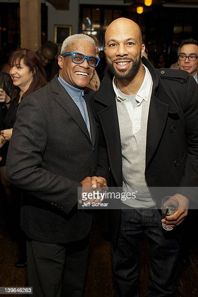 George Daniels and Common attend Michigan Avenue Magazine And Common KickOff The Second Annual Common Ground Foundation Gala With Tequila Avion at...