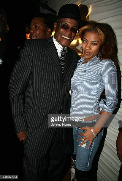 George Daniels and Keyshia Cole at the Joes Pub in Chicago Illinos