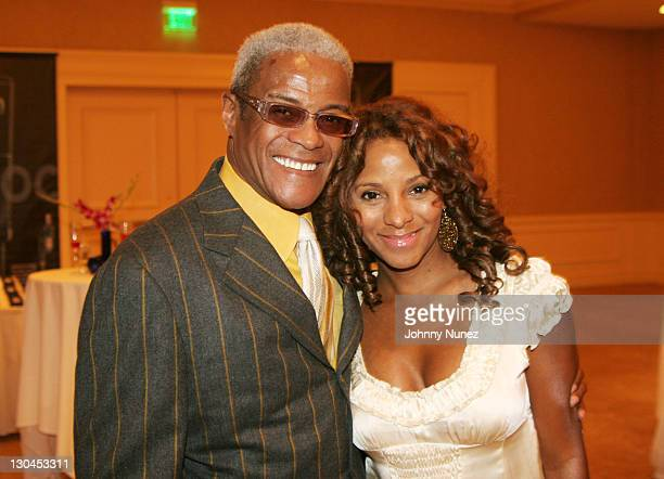 George Daniels and Marvet Britto during The 49th Annual GRAMMY Awards Mercedes Benz Presents The AEC 5th Annual Artist Celebration Luncheon Honoring...