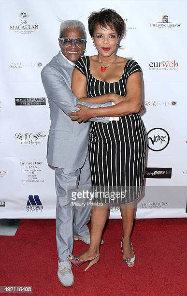 George Daniels and Paula Newsome attend Living Legends Foundation 19th Awards show and dinner at Taglyan Cultural Complex on October 9 2015 in...