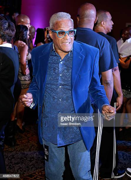 George Daniels attends the 2014 Soul Train Music Awards Centric Soul Train Weekend KickOff Reception at The Orleans Hotel Dauphine Ballroom on...