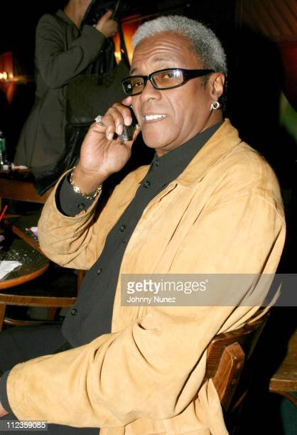 George Daniels of George's Music Room during Tarralyn Ramsey's Showcase At The Bottom Line October 30 2003 at The Bottom Line in New York City New...
