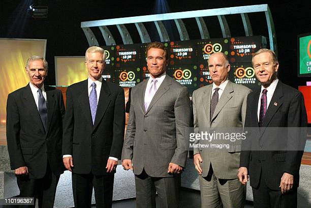 George Deukmejian Gray Davis Governor Arnold Schwarzenegger Jerry Brown and Pete Wilson