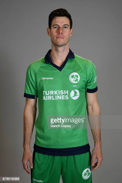 George Dockrell of Ireland poses for a portrait at The Brightside Ground on May 4 2017 in Bristol England