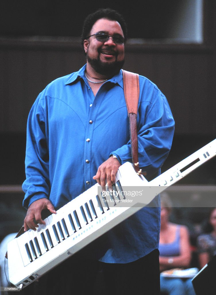 George Duke performs at The Mountain Winery in Saratoga Calif. on August 23rd 2001. Image By: Tim Mosenfelder/ImageDirect