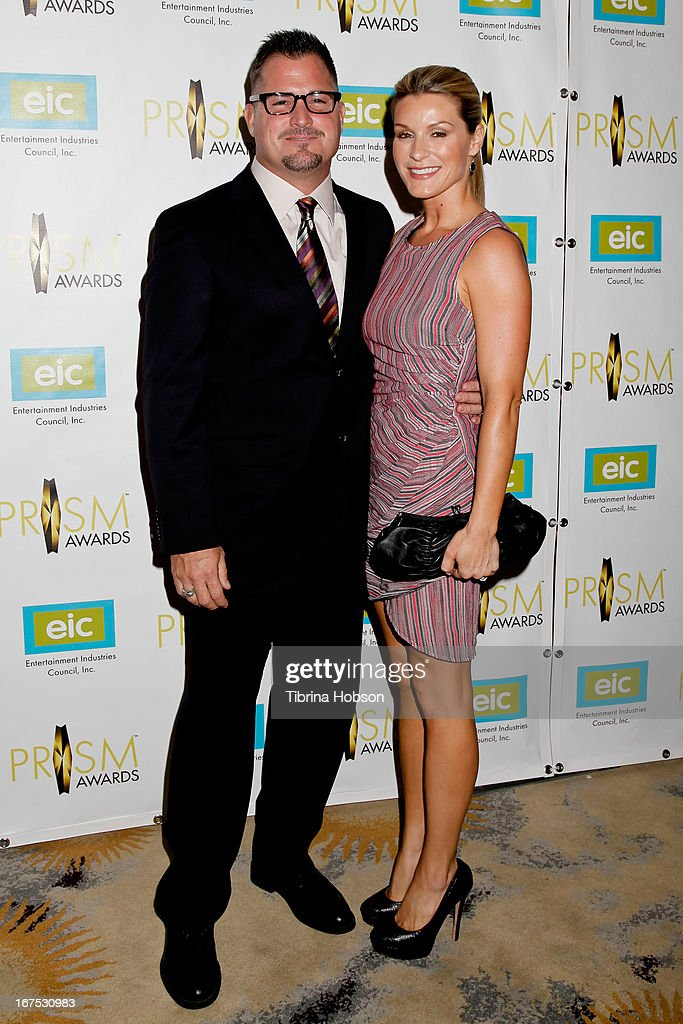 <a gi-track='captionPersonalityLinkClicked' href=/galleries/search?phrase=George+Eads&family=editorial&specificpeople=206447 ng-click='$event.stopPropagation()'>George Eads</a> and Monika Casey attends the 17th annual Prism Awards at Beverly Hills Hotel on April 25, 2013 in Beverly Hills, California.