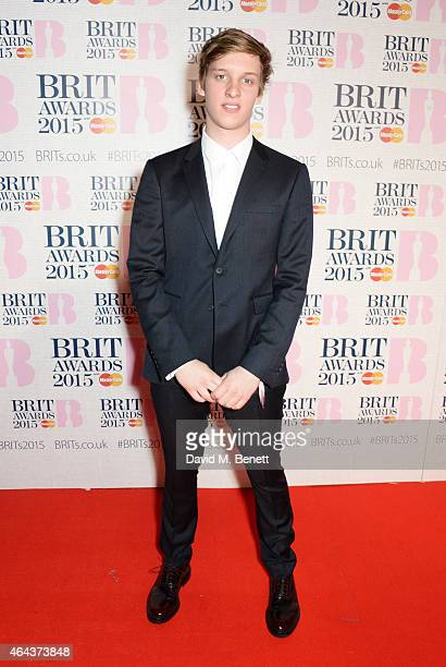 George Ezra attends the BRIT Awards 2015 at The O2 Arena on February 25 2015 in London England