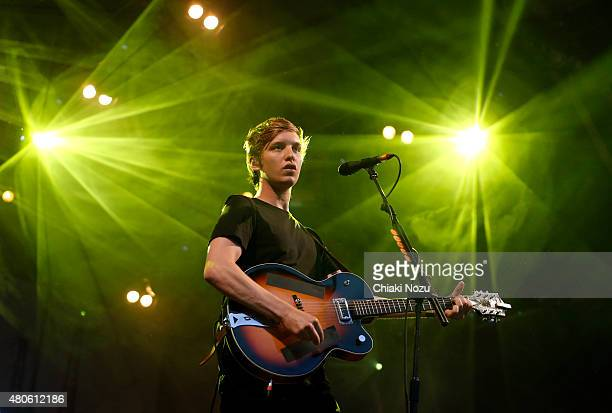 George Ezra performs at Somerset House on July 13 2015 in London England