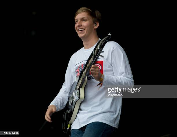 George Ezra performs at The Parklife Festival 2017 at Heaton Park on June 10 2017 in Manchester England