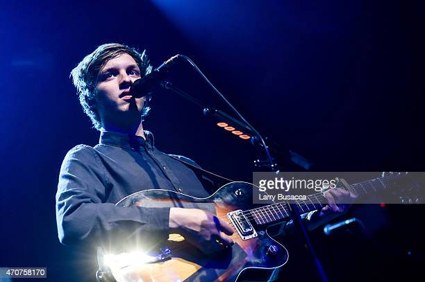 George Ezra performs at Webster Hall on April 22 2015 in New York City