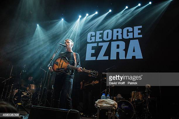 George Ezra performs during Creative Live Session at Yoyo at on October 28 2014 in Paris France