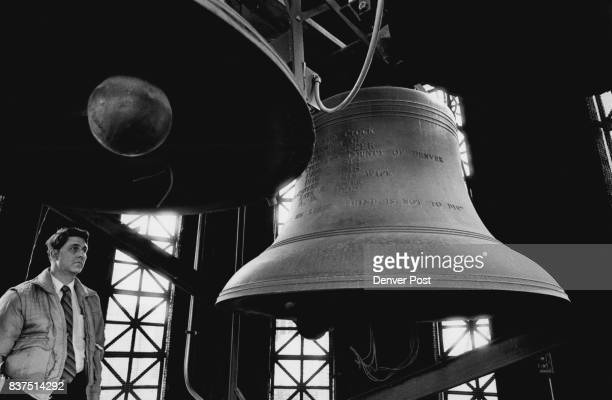 George F Sevier building Mantenance Supervisor with the City and county of Denver in the bell tower of the City Adn County building of Denver Seiver...