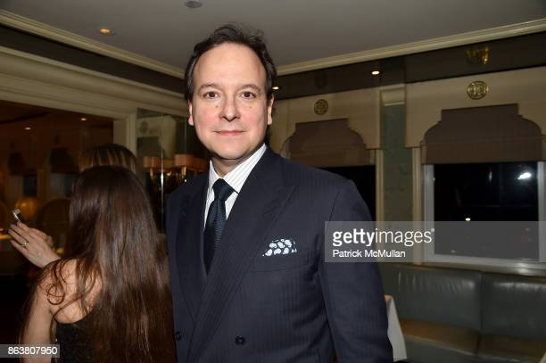 George Farias attends the launch of Second Bloom Cathy Graham's Art of the Table hosted by Joanna Coles and Clinton Smith at Bergdorf Goodman on...