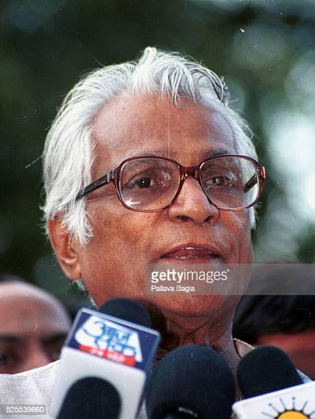 George Fernandes Defense Minister resigned on March 15 2001 following a scandal concerning bribes taken by members of the government