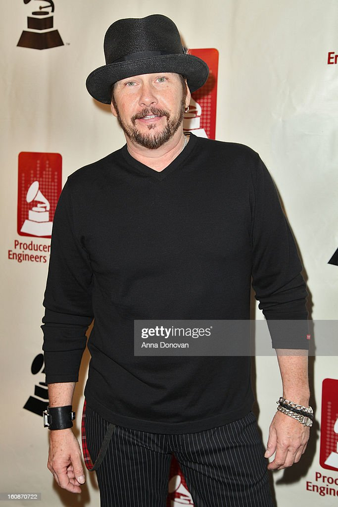 George Flannigan attends the producers & engineers wing of the recording Academy's 6th Annual GRAMMY Event 'An Evening Of Jazz' at The Village Recording Studios on February 6, 2013 in Los Angeles, California.