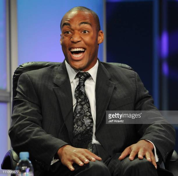 George Foreman IV speaks during the 2008 Summer Television Critics Association Press Tour for MTVN held at the Beverly Hilton hotel on July 9 2008 in...