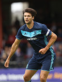 George Friend of Middlesbrough looks on during the pre season friendly match between York City and Middlesbrough at Bootham Crescent on July 9 2016...