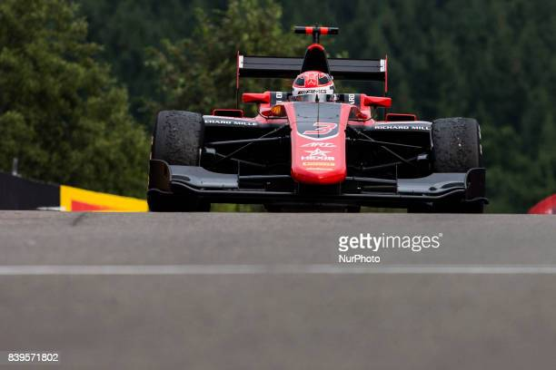 George from Great Britain of Art Grand Prix and Mercedes young driver program during the Race 1 of the FIA GP3 championship at Circuit de...