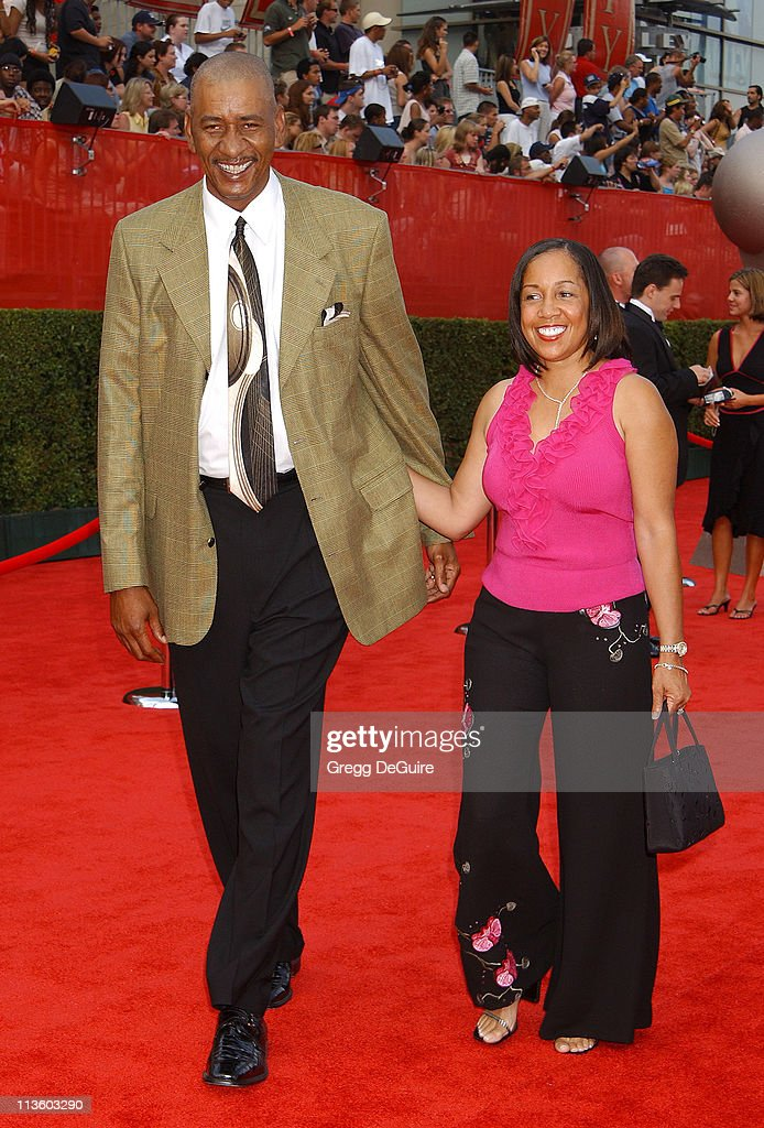 George Gervin during 2003 ESPY Awards Arrivals at Kodak Theatre in Hollywood California United States