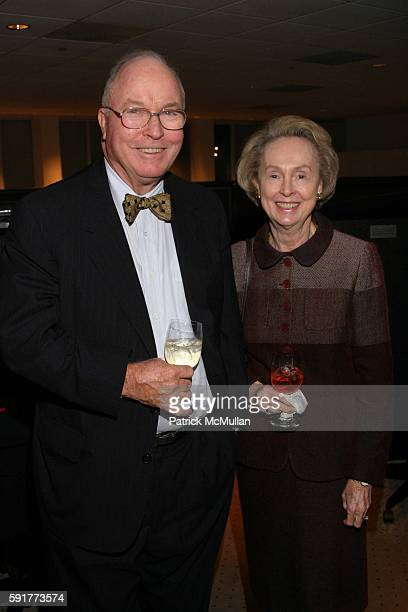 George Gillespie and Eileen Gillespie attend A Centennial Celebration for Harold Arlen at The Museum of Television and Radio on October 17 2005 in...