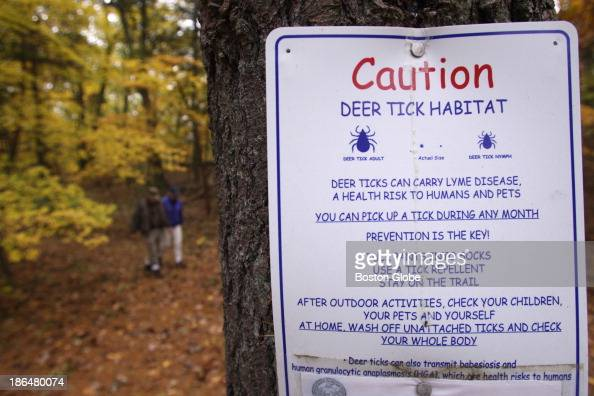 George Giunta Lyme Disease Agent and agent for the Conservation Commission for the town of Dover and Barbara RothSchechter Chair of the Dover Board...
