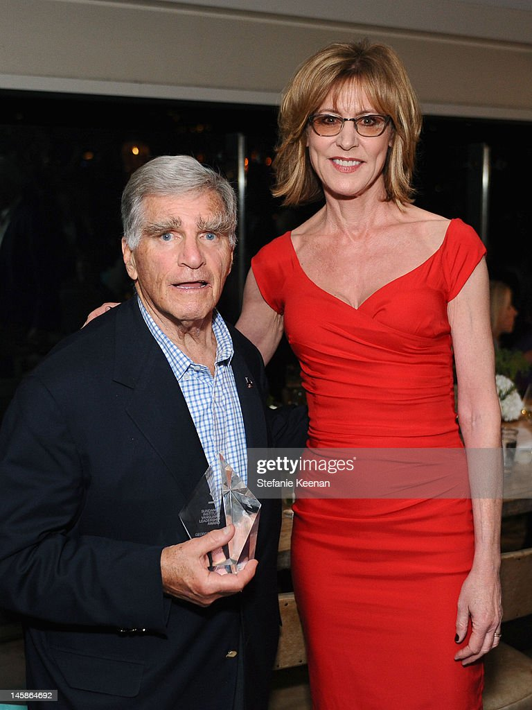 George Gund and actress <a gi-track='captionPersonalityLinkClicked' href=/galleries/search?phrase=Christine+Lahti&family=editorial&specificpeople=213107 ng-click='$event.stopPropagation()'>Christine Lahti</a> attend the Sundance Institute Benefit presented by Tiffany & Co. in Los Angeles held at Soho House on June 6, 2012 in West Hollywood, California.