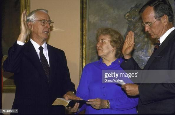 George H. W. Bush;James C. Fletcher [& Wife] Pictures ...