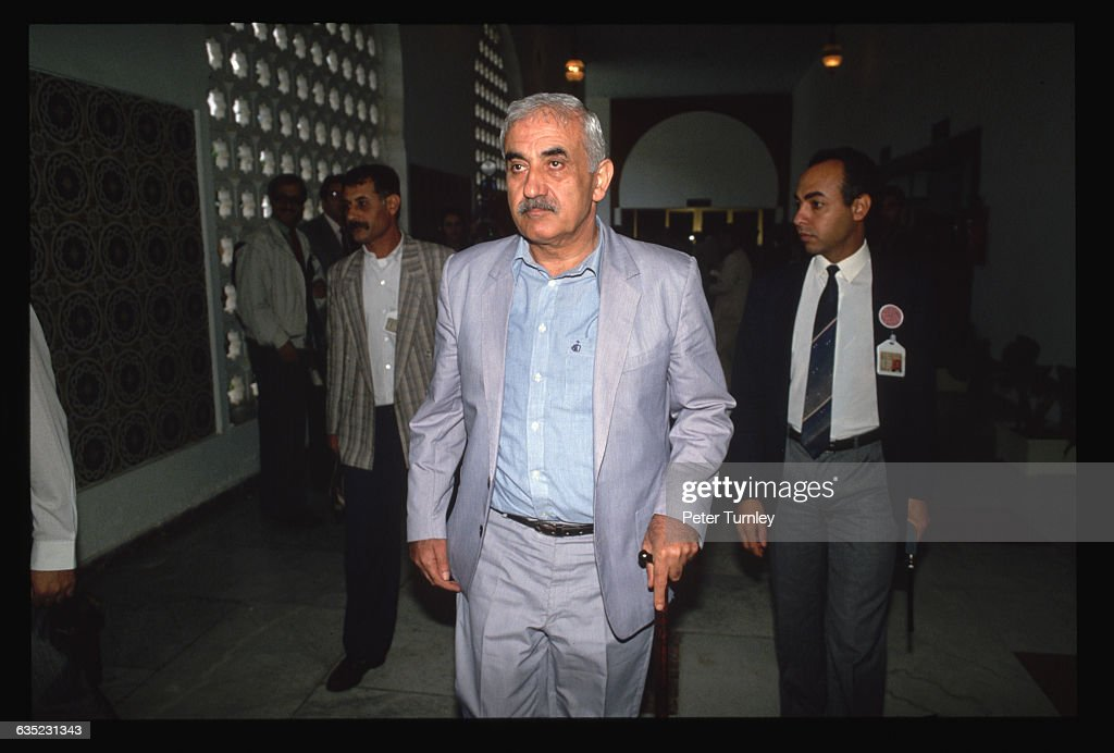 <a gi-track='captionPersonalityLinkClicked' href=/galleries/search?phrase=George+Habash&family=editorial&specificpeople=1106400 ng-click='$event.stopPropagation()'>George Habash</a>, leader of the Popular Front for the Liberation of Palestine, attends a meeting of Palestine Liberation Organization leaders.