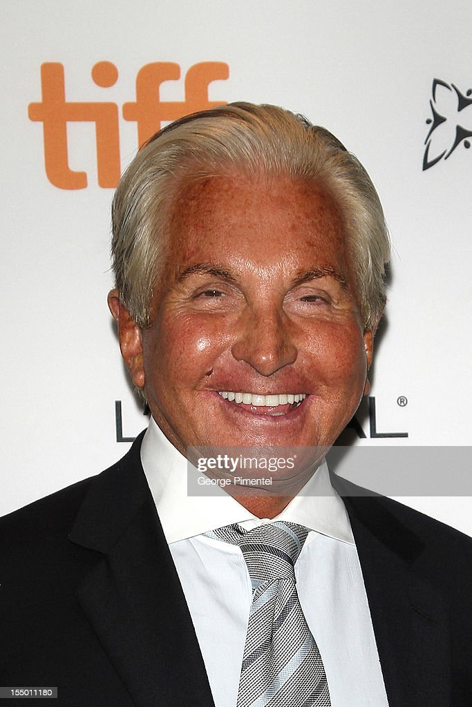 <a gi-track='captionPersonalityLinkClicked' href=/galleries/search?phrase=George+Hamilton+-+Actor&family=editorial&specificpeople=208770 ng-click='$event.stopPropagation()'>George Hamilton</a> attends the screening of 'Love At First Bite' at TIFF Bell Lightbox on October 29, 2012 in Toronto, Canada.