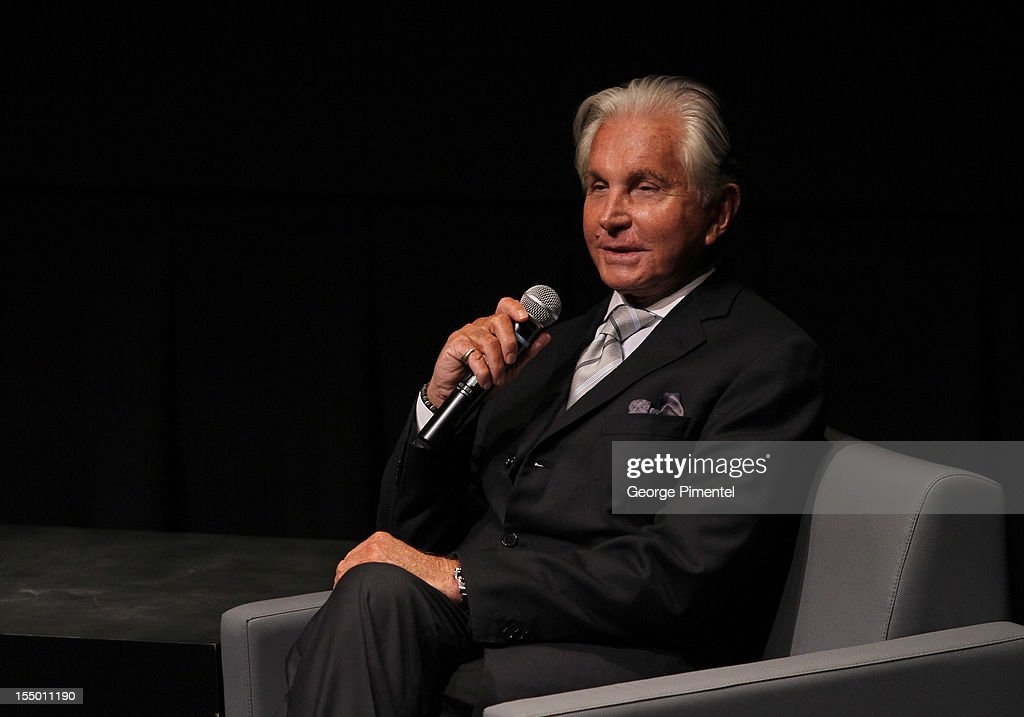 George Hamilton attends the screening of 'Love At First Bite' at TIFF Bell Lightbox on October 29, 2012 in Toronto, Canada.