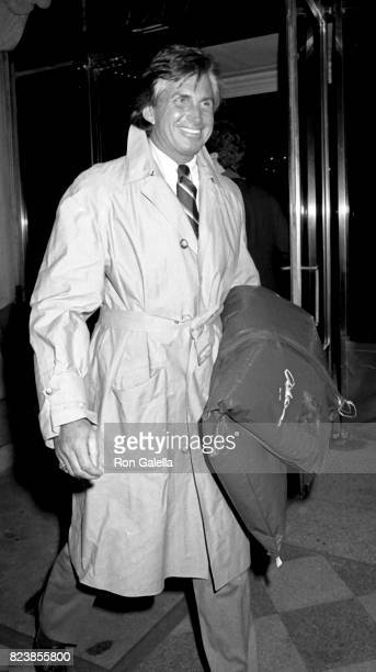 George Hamilton sighted on April 7 1987 at Plaza Athenee in New York City