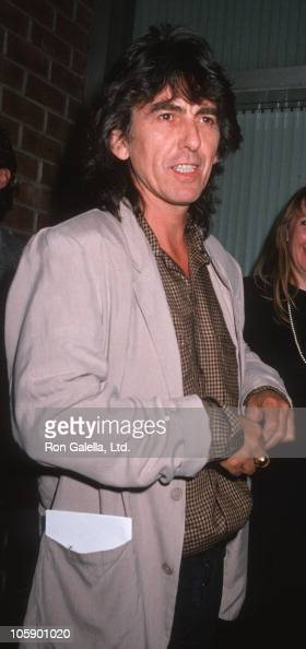 George Harrison during 'Powwow Highway' New York City Premiere at Director's Guild in Hollywood California United States