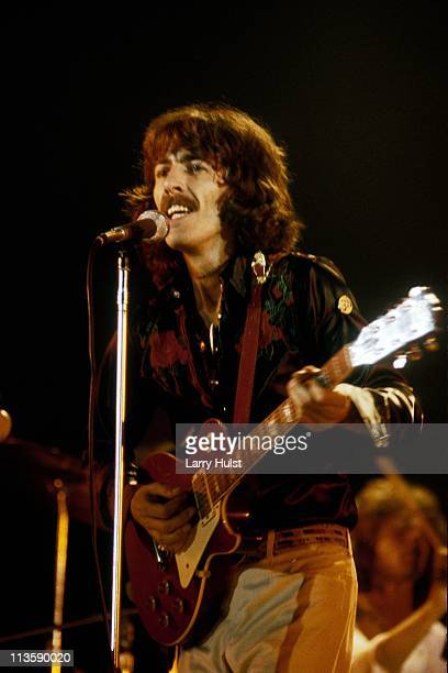 George Harrison performing at The Cow Palace in Daly City California on November 7 1974