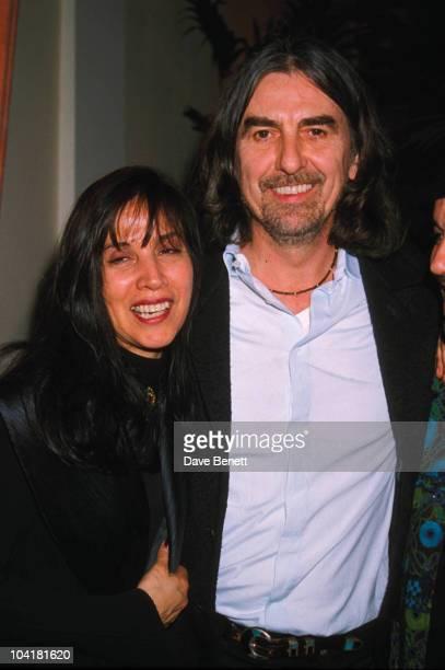 George Harrison With Wife Olivia Trinidad Arrias