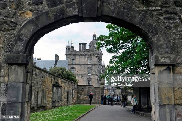George Heriot's School is pictured in Edinburgh Scotland on June 26 2017 The school is cited with being the inspiration for the Hogwart's School of...