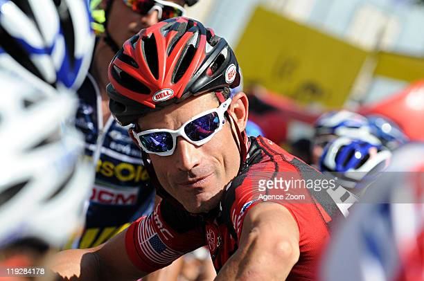 George Hincapie of BMC Racing Team during Stage 14 of the Tour de France on July 16 2011 SaintGaudens to Plateau de Beille France