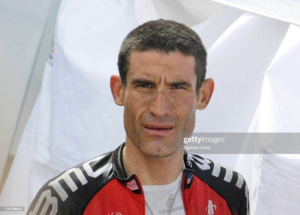 <a gi-track='captionPersonalityLinkClicked' href=/galleries/search?phrase=George+Hincapie&family=editorial&specificpeople=534468 ng-click='$event.stopPropagation()'>George Hincapie</a> of BMC Racing Team during Stage 4 of the Tour de France on Tuesday July 5, 2011 in Lorient to Mur-de-Bretagne, France.