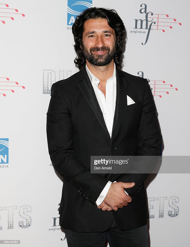 George Houvardas poses at the 4th Annual Duets Gala concert at the Capitol Theatre on October 14, 2013 in Sydney, Australia.