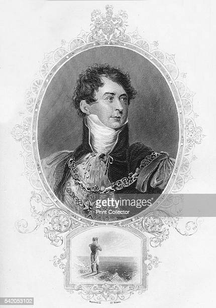 George IV' 1859 After Thomas Lawrence From The History of England Div X by David Hume Tobias Smollett [Virtue Co London 1859] Artist Unknown